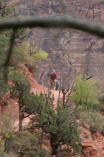 Zion - Emerald Pools Trail - Return Trail - 009