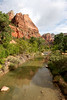 Zion - Emerald Pools Trail - Virgin River - 002