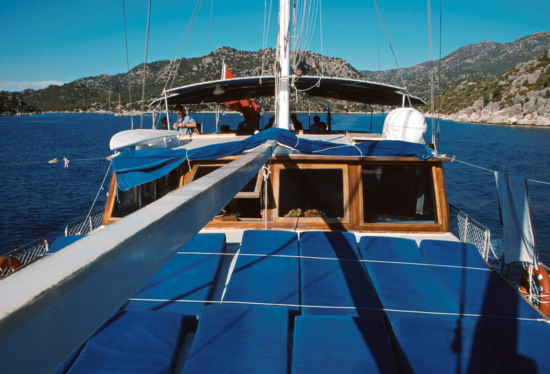 cruise - front of boat