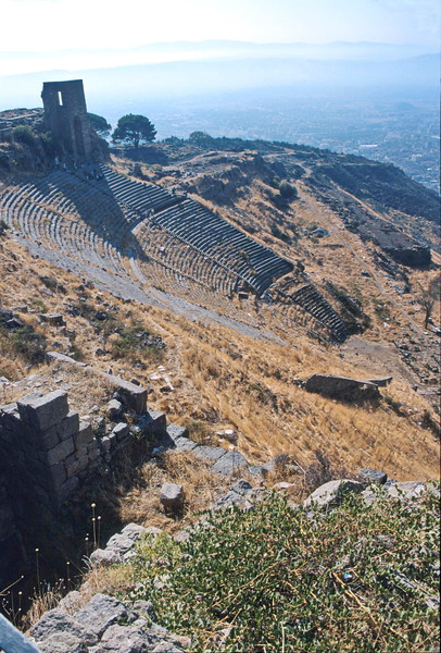 pergamum - theatre - from above 2