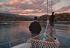 cruise - fishing at dusk