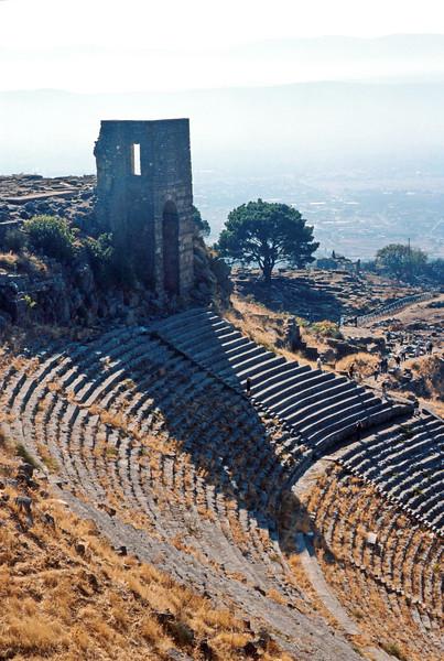 pergamum - theatre - from above