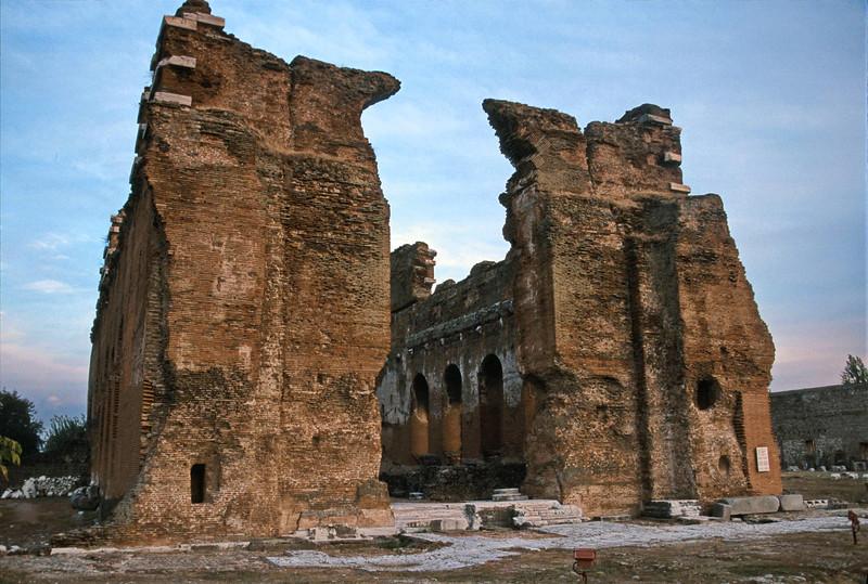 pergamum - red basilica