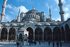 istanbul - blue mosque from courtyard