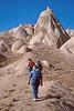 goreme hike - john and audrey hiking