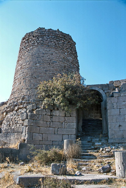 pergamum - gate to lower ruins