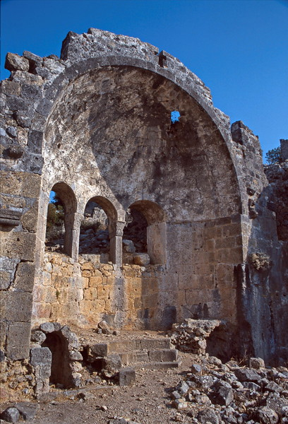 st nicholas island - ruined church