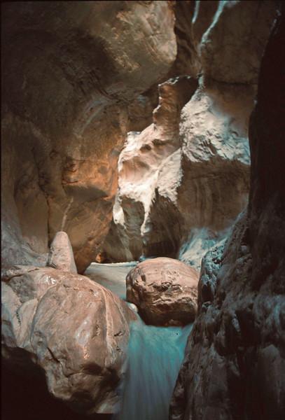 saklikent gorge - waterfall