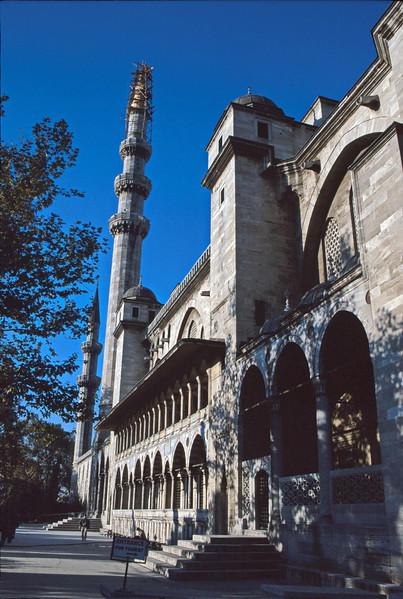 istanbul - suleymaniye mosque - exterior