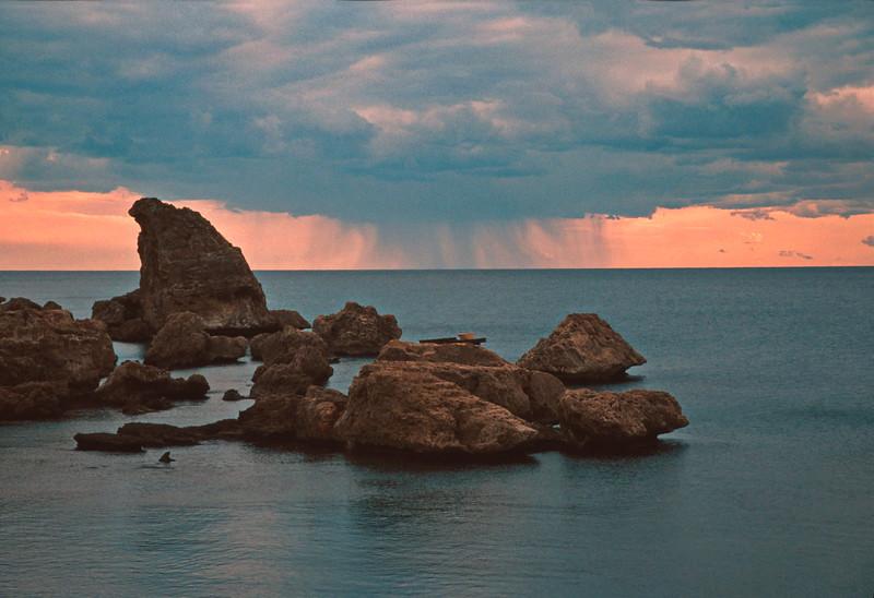 antaylia - rain on mediterranean