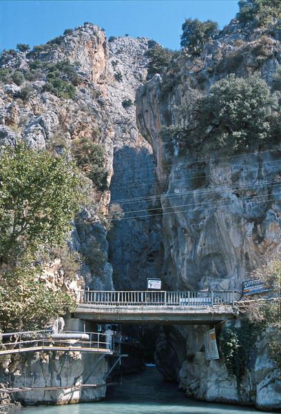 sakikent gorge - entrance