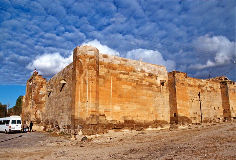 cappadocia - caravansarai - building view
