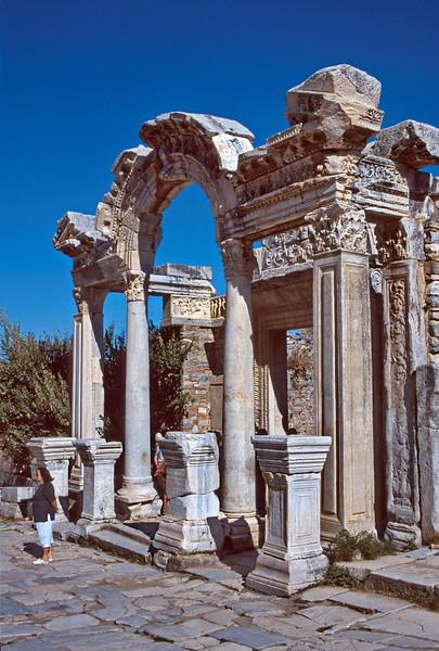 ephesus - temple of hadrian