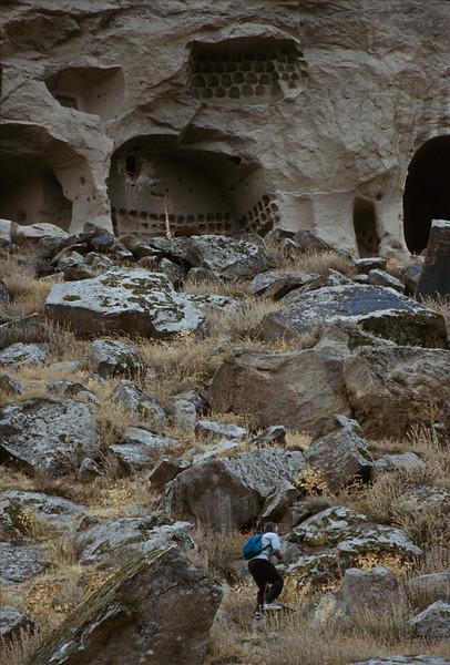 ihlara valley - canyon wall view