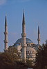 istanbul - blue mosque - in late afternoon light