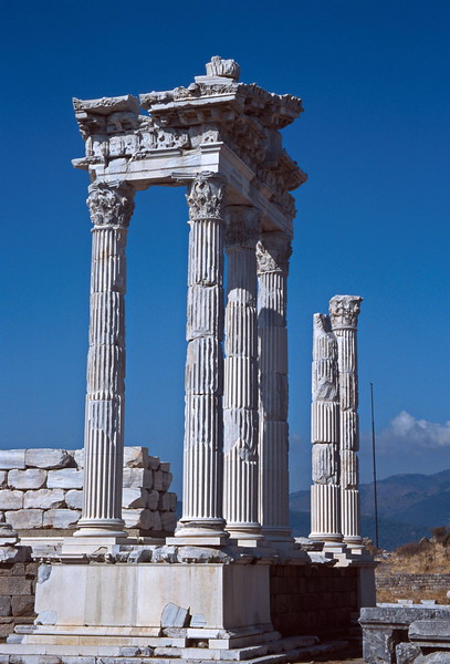 pergamum - temple of trajan 2