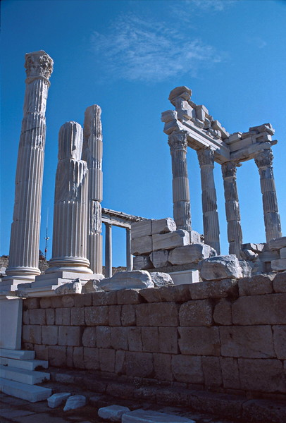 pergamum - temple of trajan 3