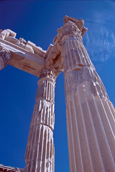 pergamum - temple of trajan