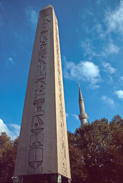 istanbul - egyptian obelisk on hippodrome