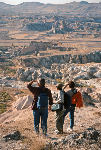 goreme hike - veena, john and audrey