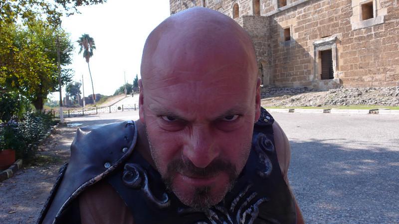 The Romans await us at Aspendos