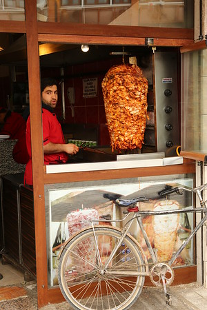 Not as many kebab places as I was expecting. If Istanbul has one every 50 meters they were usually hard to find in Konya and impossible in Antalya city or Cappadocia.