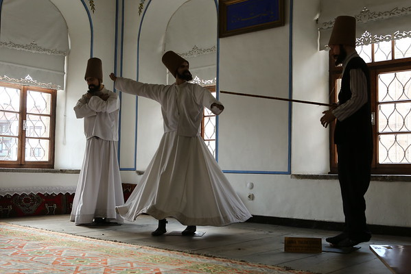 Dervishes used to study here.