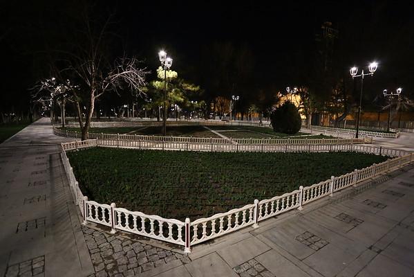 First visit around Konya was during the night.