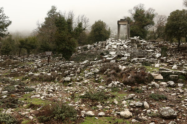 It was my first ancient city in Turkey but didn't get the feeling of being preserved very well.