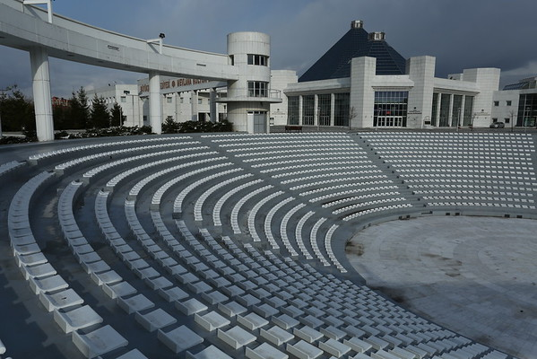 Mevlana Cultural Center was built to honor Rumi and the whirling dervishes.