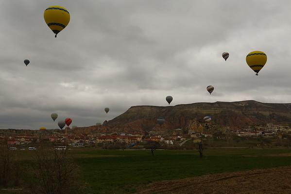 Most of them were near Çavuşin.