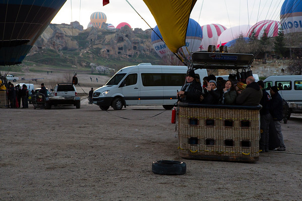 The balloons I came close to were packed with tourists so if you want to book a flight ask how many people are sharing a balloon.