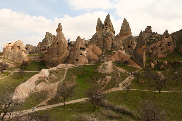 As in most places, you are free to go around. After the failure with Göreme Open Air Museum I was feeling much better.