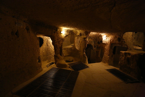 Rich families were having a house outside and a room underground. There were also communal areas.