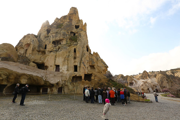 Göreme Open Air Museum was the big disappointment of Cappadocia. As it's one of the few places where you pay to visit I had high expectations.
