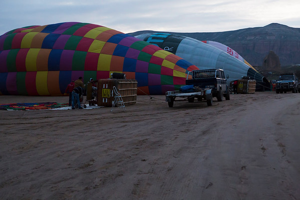 As now I knew where balloons start from I woke up way before sunrise to try and find them.