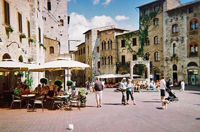 Main Square-San Gimignano