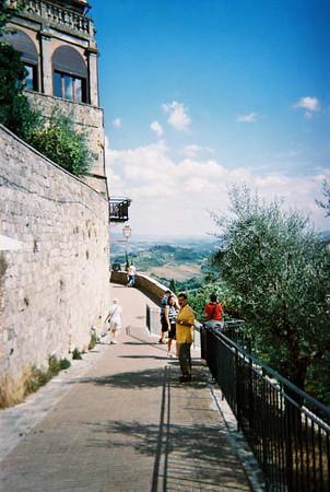 San Gimignano ramparts