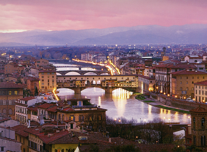 Ponte Vecchio & other bridges