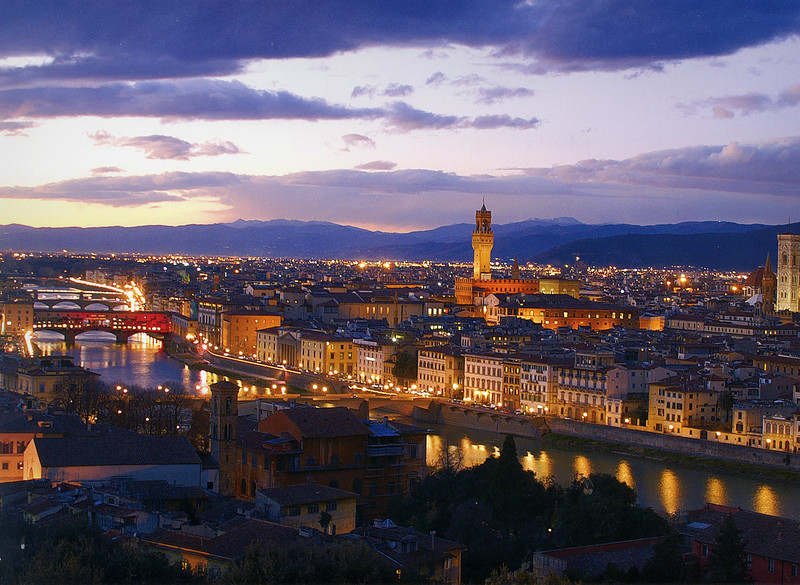 Panorama dal Piazzale Michelangelo