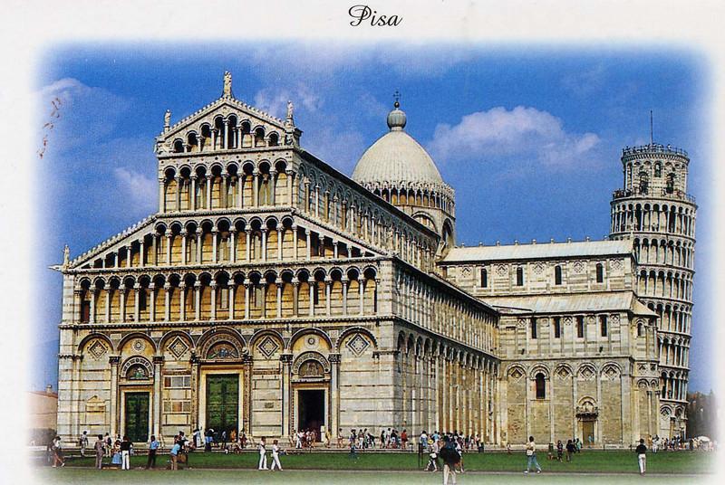 Pisa-Piazza dei Miracoli