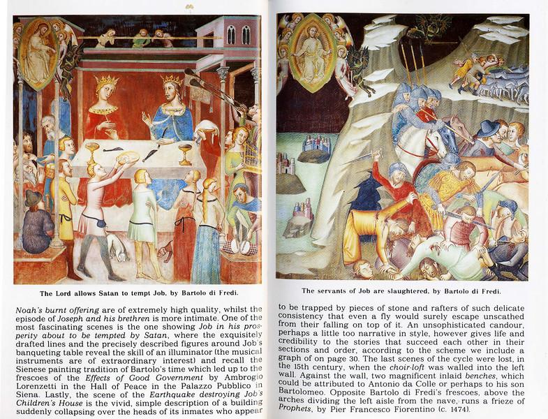 Frescos- San Gimignano