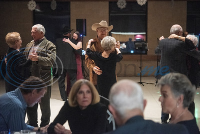 People dance as professional entertainer Otis Webster, of Tyler, performs at the pre-New Year's Eve Dance held at the Rose Garden Center on Monday, Dec. 30, 2019. The event was sponsored by the Tyler Senior Center.  (Sarah A. Miller/Tyler Morning Telegraph)