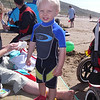 Alex in his new wetsuit