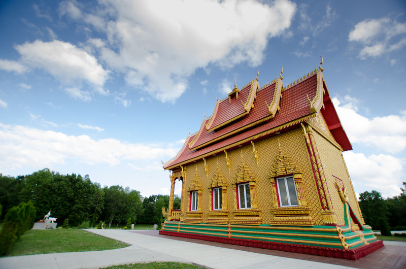 Thai temple at Rochester.