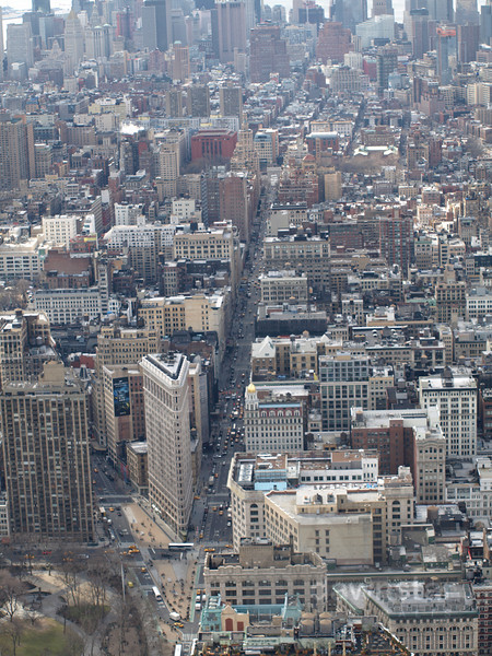 Some more shots from the top of the Empire State Building