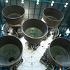 Business end of a Saturn V rocket. I want one. Seriously.