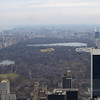 A view of Central Park from atop the Rockafella Center - gives you an idea of just how vast it is