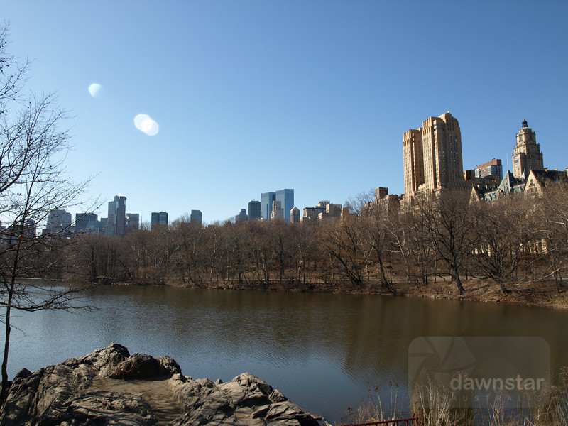 Looking over Central Park - I must go back here during spring/summer