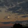 Moonrise over the beach at Sarasota